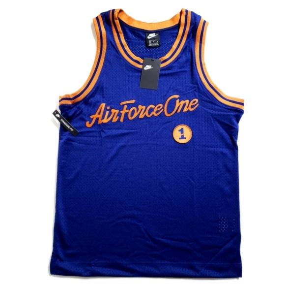 Nike Air Force 1 One Basketball Jersey AJ2374 478